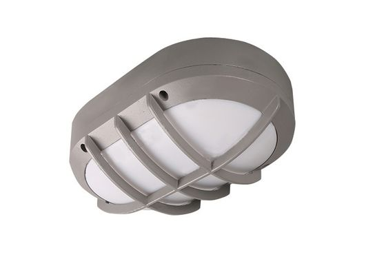 चीन Aluminium Outdoor LED Bathroom Ceiling Light Cool White 6000K 10W 80 Lm/W फैक्टरी